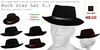 Rock star V.1 mesh hat 5 colors in the box
