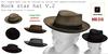 Rock star V.2 mesh hat 5 colors