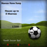 Meeroos Home Youth Soccer Ball   v3.0(BOXED)