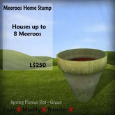 Meeroos Home Flower Pot Green v3.0 BOXED