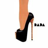 DADAbeiz :: Black-Cork PeepToes Package - Wear me