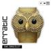 erratic / owl bracelet / gold