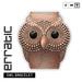 erratic / owl bracelet / pinkgold