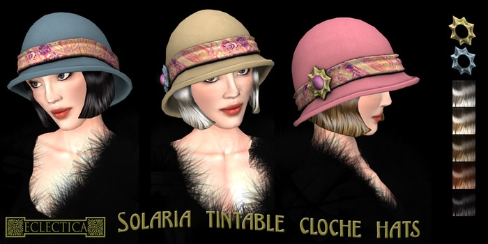Eclectica 'Solaria' Cloche Hat- Pink