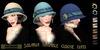 Eclectica 'Solaria' Cloche Hat- Blue