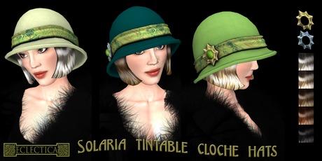 Eclectica 'Solaria' Cloche Hat- Citrus