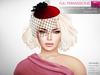 Full Perm Ladies Tulle Veil Hat - Fashion Kit