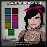 :Z.S: Plain Bandanna HeadBand