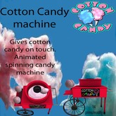cotton candy machine ( red )