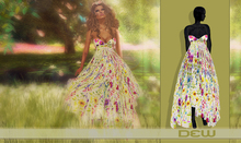 """DEW"" Voyage dress pink/ with appliers"