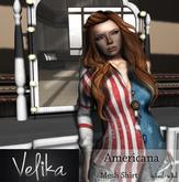 Americana - Mesh shirt [System basic sizing]