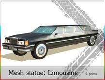 Decoration Car Limousine   4 prims only