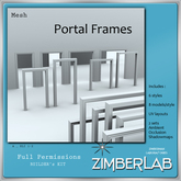 Portal Frames Mesh full perm - ZimberLab Builder's Kit A