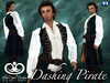 Dashing Pirate Outfit - Blue