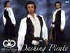 Dashing Pirate Outfit - Purple