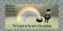 pot of gold at the end  of the rainbow.