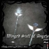 Winged Staff of Angels (Mesh Version)
