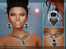 ..:: Bens Beauty ::.. Sercio Earring & Necklace