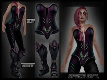 *Slyan* Space Girl outfit  -Mesh-