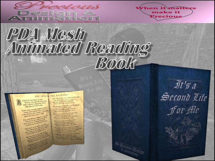PDA Mesh Animated Reading Book