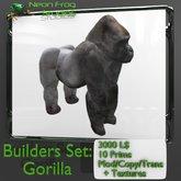 Scupted Gorilla Builders Set
