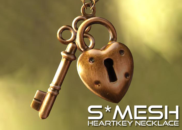 S*MESH - HeartKey Necklace
