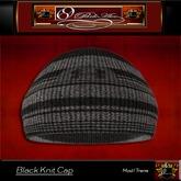 69 Park Ave - GQ Black Knit Cap