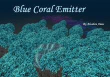 Coral Emitter (Blue) full copy (aquarium decoration)