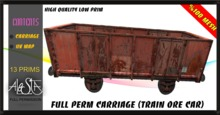 ALESTA << Mesh Carriage (Train Ore Car) Full Perm