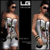 [LIV Glam] Boutique-Spring 2013-Louie Skull Romper II Hud