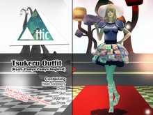 -ATTIC- Tsukema Tsukeru Outfit