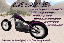 Bike script set for builders