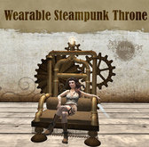 Julia's Wearable Steampunk Throne