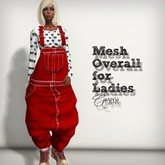 AMERIE - Mesh Overall_Red