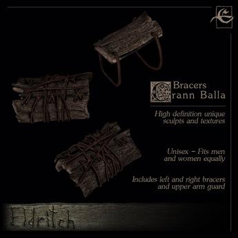.Eldritch. Crann Balla Bracers