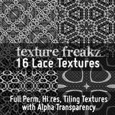 Texture Freakz : 16 Lace Textures