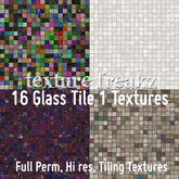 Texture Freakz : 16 Glass Tile 1