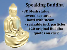 Buddha Speaking Gold