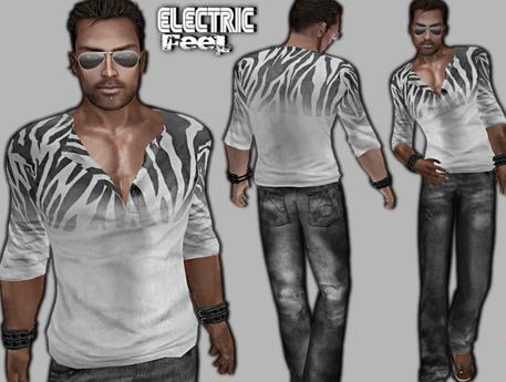 *-*EF*-* Eric (v-neck shirt outfit)