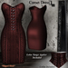 DE Designs - Corset Dress - Red