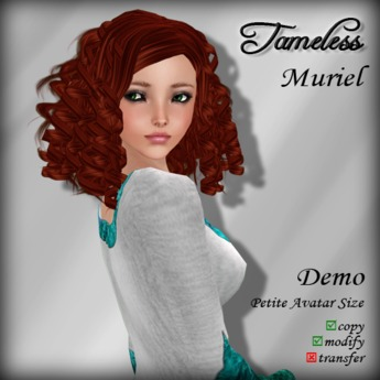 Tameless Hair Muriel (petite) - DEMO