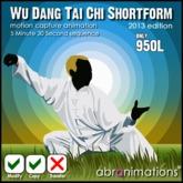 Wu Dang Tai Chi  Short Form (2013 c/nt )
