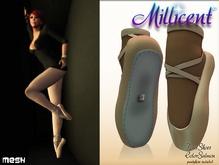 .:*Millicent*:. Ballet point shoes - Salmon