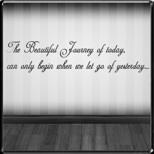 *~LT~*Beautiful Journey of Today Wall Art Decal