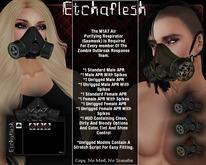 DEMO [Etchaflesh] Zombie Response M1A7 APR Gas Mask