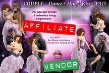 SUPER! COUPLE DANCE, HUG & KISS PAD *** AFFILIATE VENDOR ***