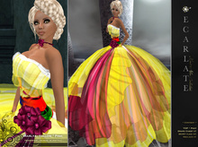 Marlya 2013 - Dress Yellow-Pink * Robe Jaune-Rose