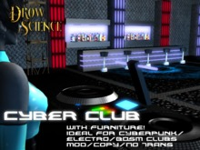 Electro/Goth/Cyber Club Prefab Skybox MOD/COPY