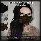 :Z.S: Steampunk Gas Mask Solids