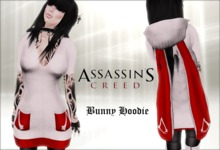 @.@ TRB ~ Assassin's Creed Bunny Hoodie
